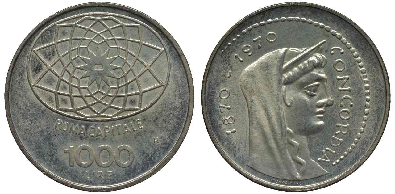 Mille lire Roma Capitale (Adobe Stock)