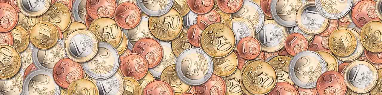 Monete euro varie (Adobe Stock)