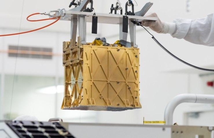 Moxie, l'unità che ha prodotto ossigeno su Marte