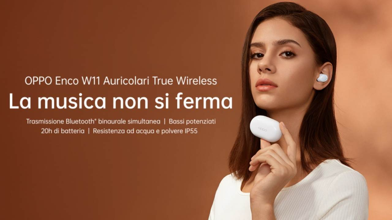 Auricolari Enco W11