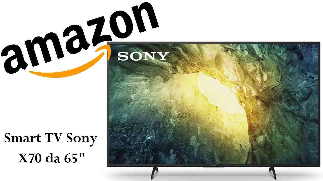 Sconto Amazon su TV Sony