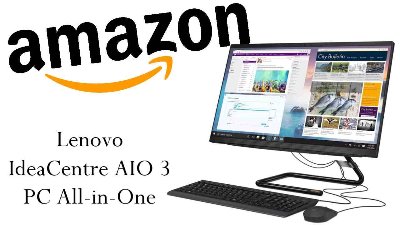 Sconto Amazon su Lenovo All-in-One