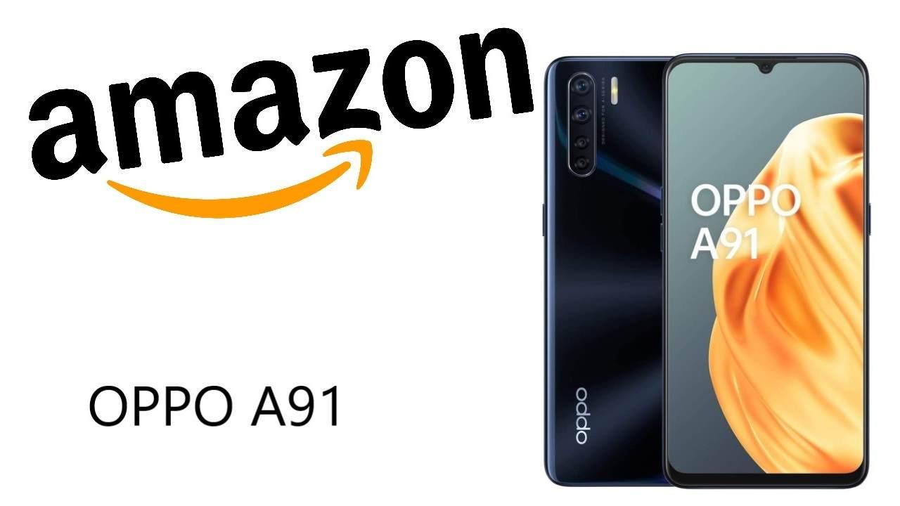 Sconto Amazon su OPPO A91