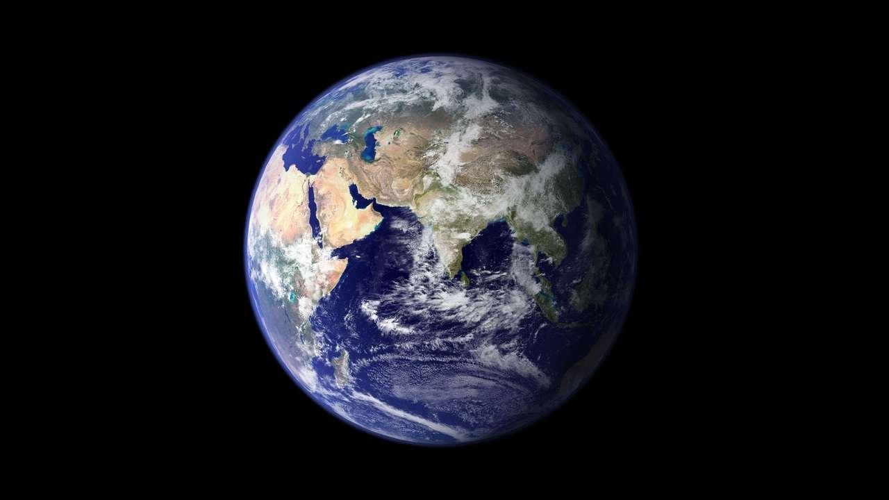 Mondo visto dallo spazio