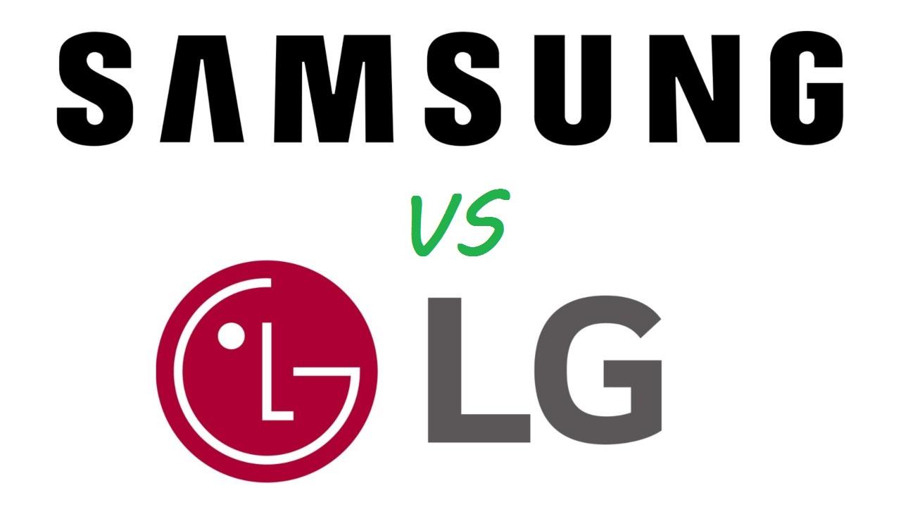 LG e Samsung