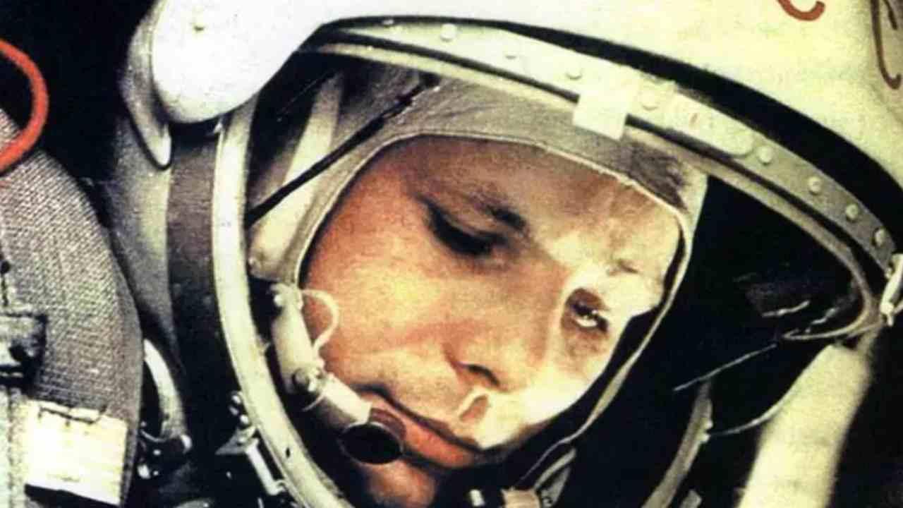 Yuri Gagarin nello spazio