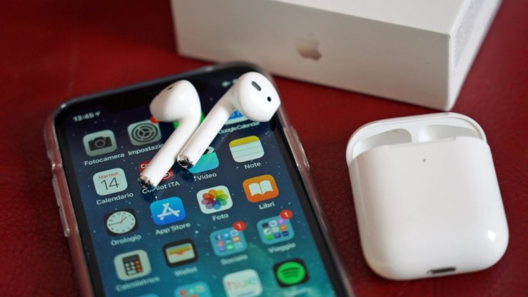 Apple AirPods (Foto Wired)