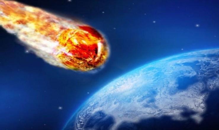 Asteroide sulla Terra (Foto Ilmeteo.it)