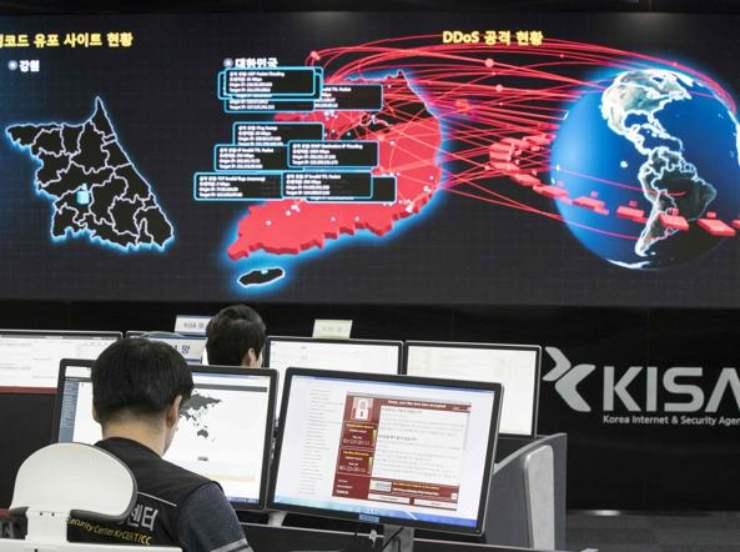 Unione Europea sotto attacco hacker (Foto Corriere.it)