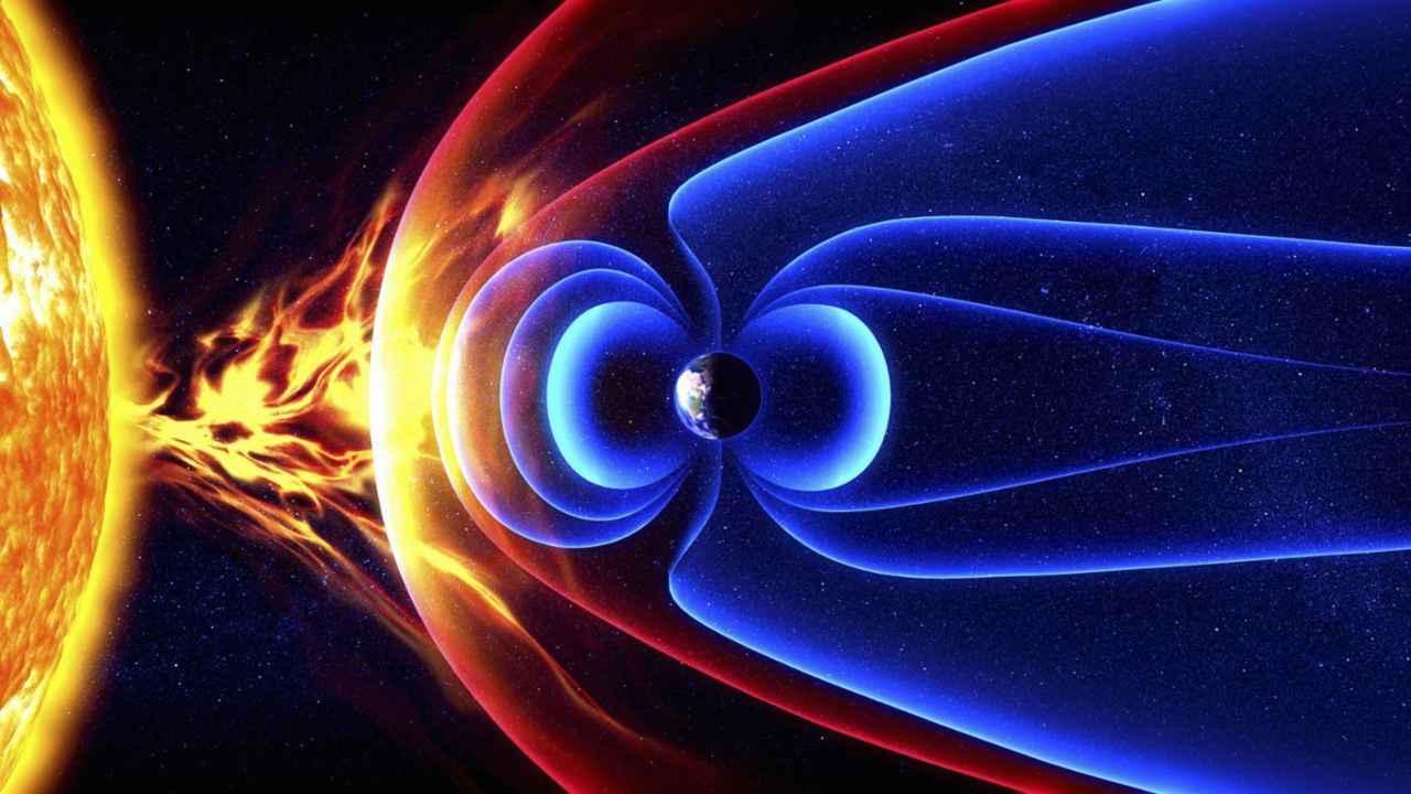 Campo geomagnetico Terra (Foto Aaroncolagrossi.com)