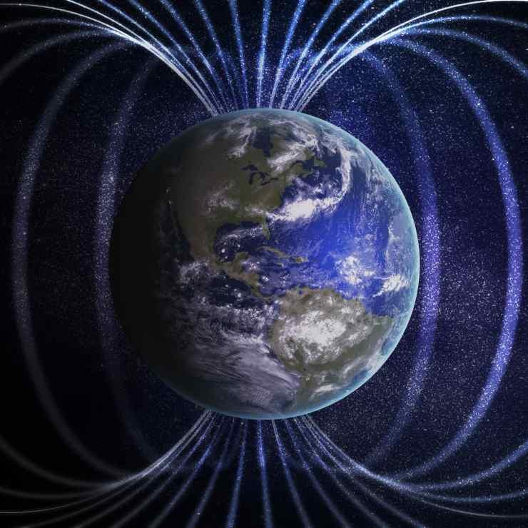 Campo geomagnetico Terra (Foto Theconversation)