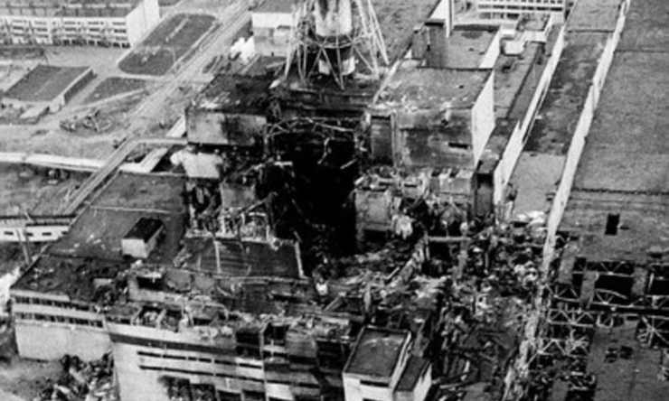 Chernobyl, foto del disastro (Foto Agi)