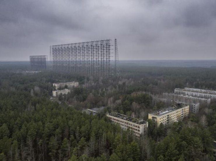 Chernobyl, il verde è ovunque (Foto Corriere.it)
