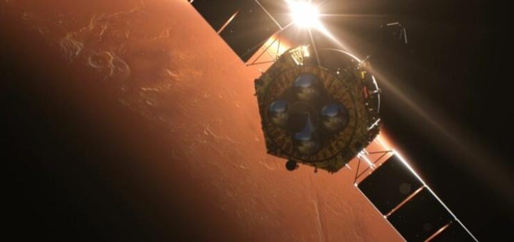 "Rover Cina su Marte ""Dio del fuoco"" (Foto Astraonautinews)"
