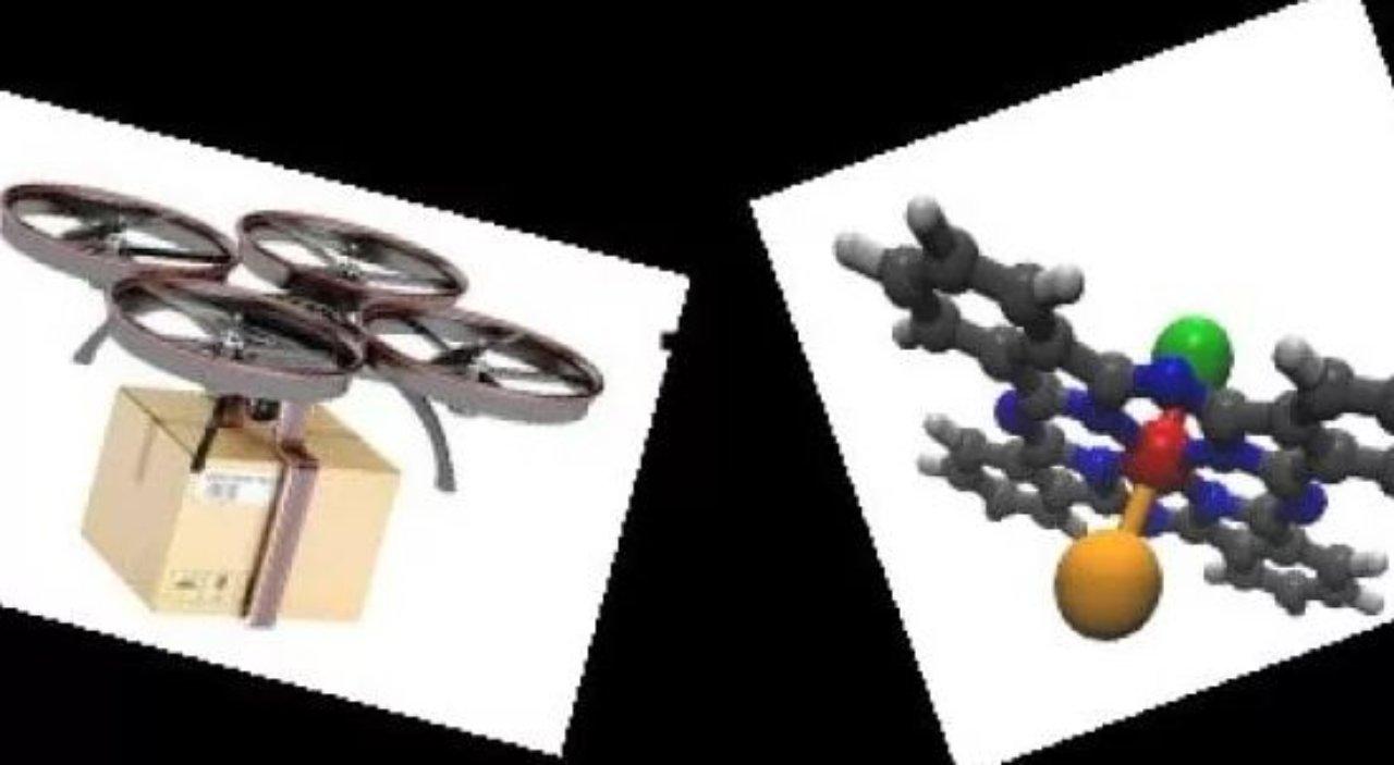 Droni molecolari (Foto Scienze.it)