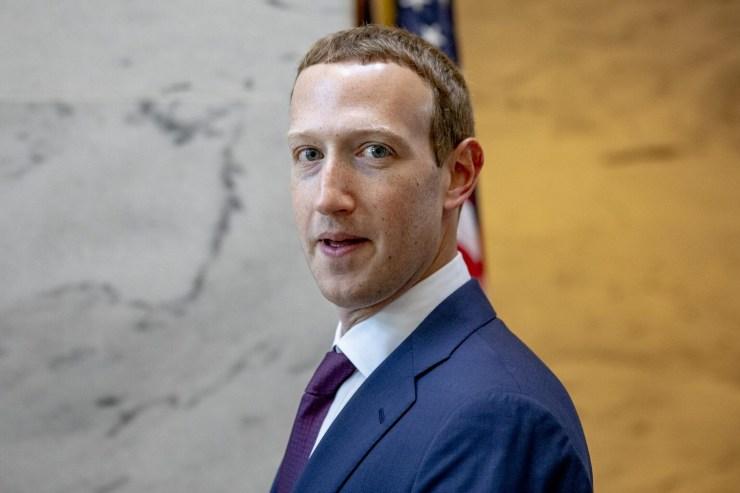 Messaggio all'avvio di Facebook (Foto Forbes)