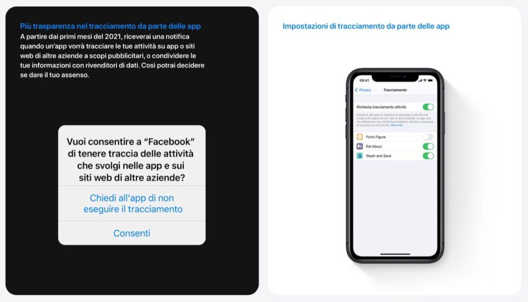 Apple: iOS 14.5 punta tutto sulla privacy