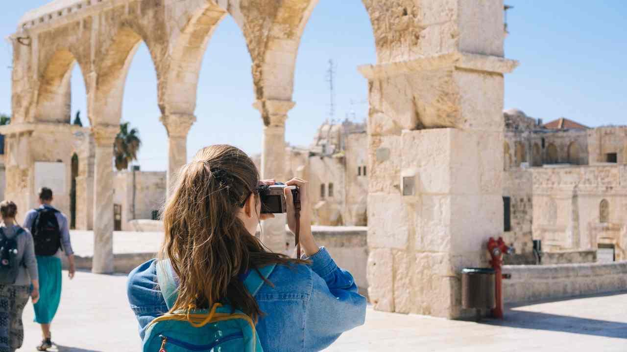 Visitare luoghi antichi