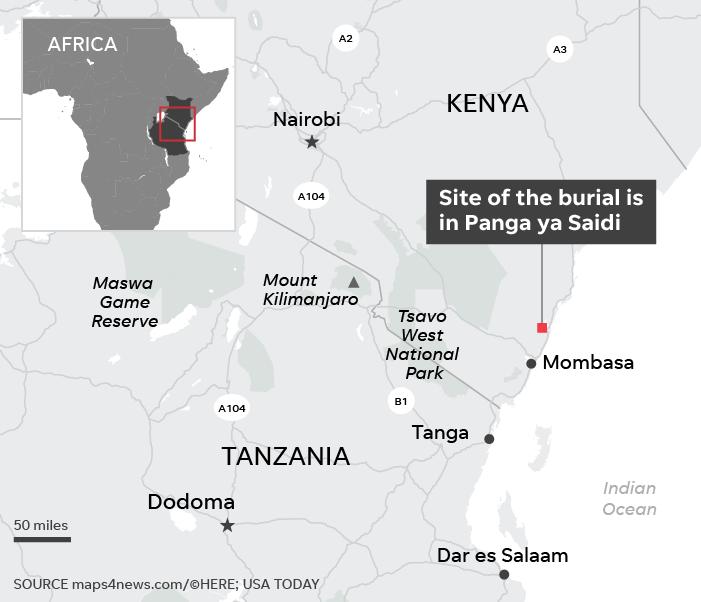 Scoperta in Africa la sepoltura