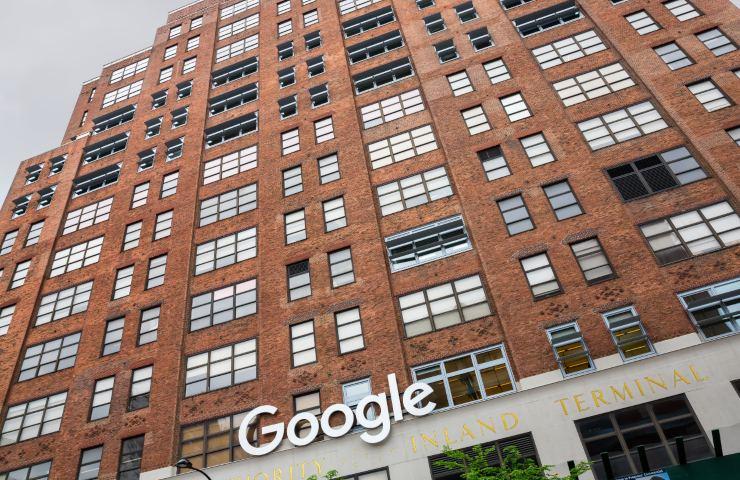La sede di Google a New York