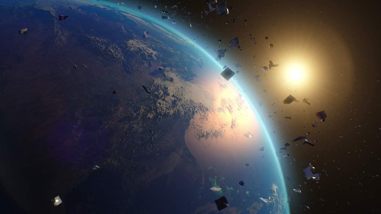 Materiali sparsi nello spazio