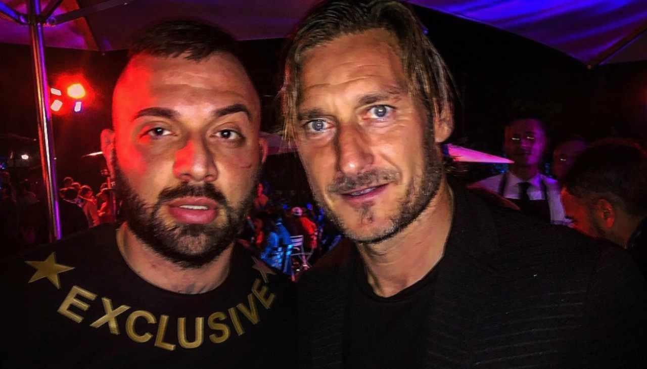 Damiano Coccia e Francesco Totti