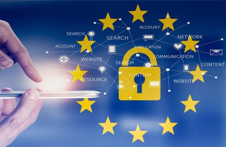 Privacy WhatsApp GDPR EU flag