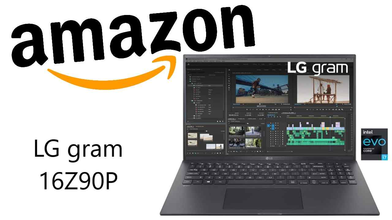 Sconto Amazon su LG gram