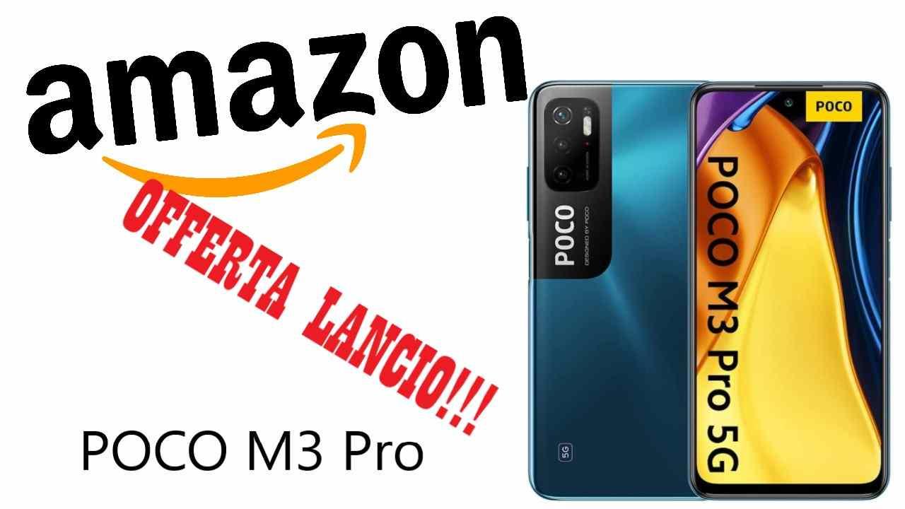 Sconto Amazon su POCO M3 Pro