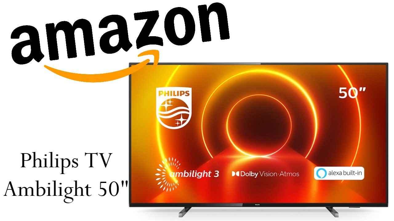 Sconto Amazon su Philips TV Ambilight
