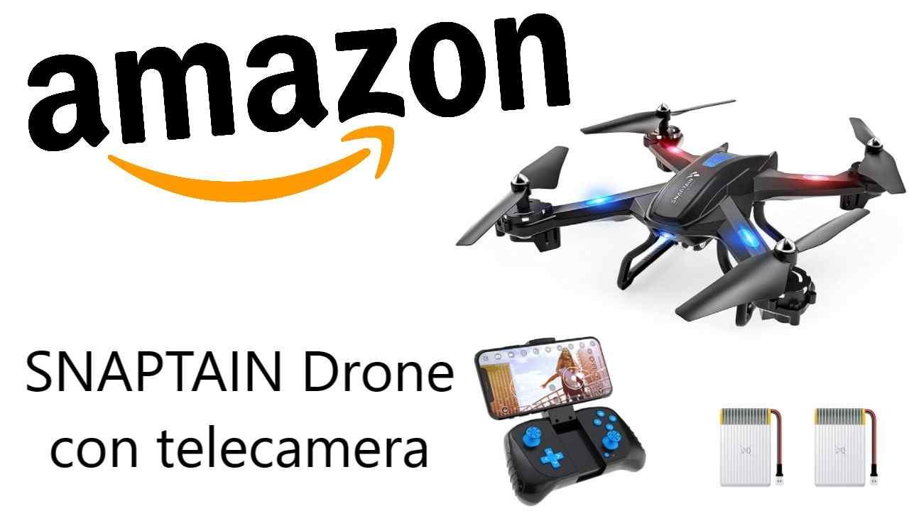 Sconto Amazon su SNAPTAIN Drone