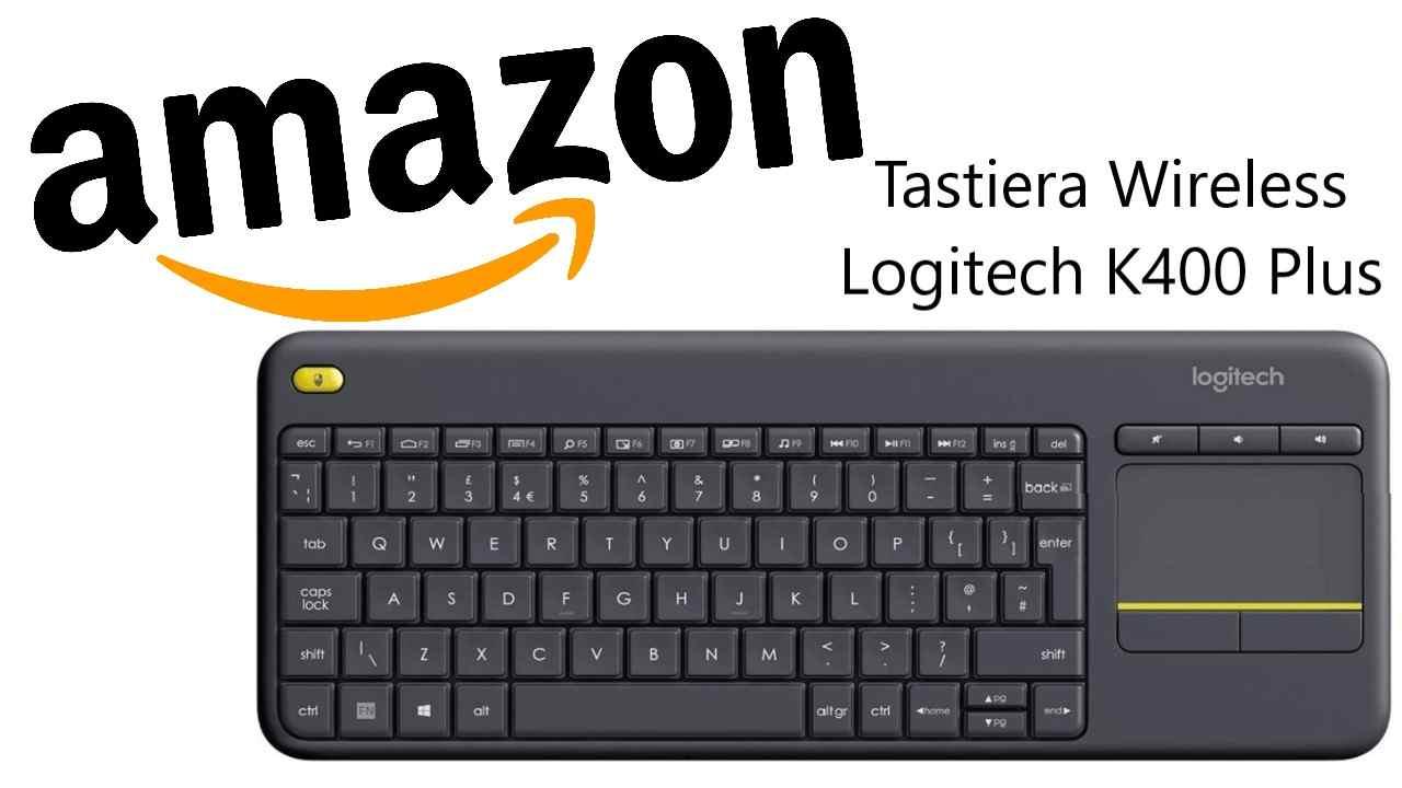 Sconto Amazon su tastiera Logitech