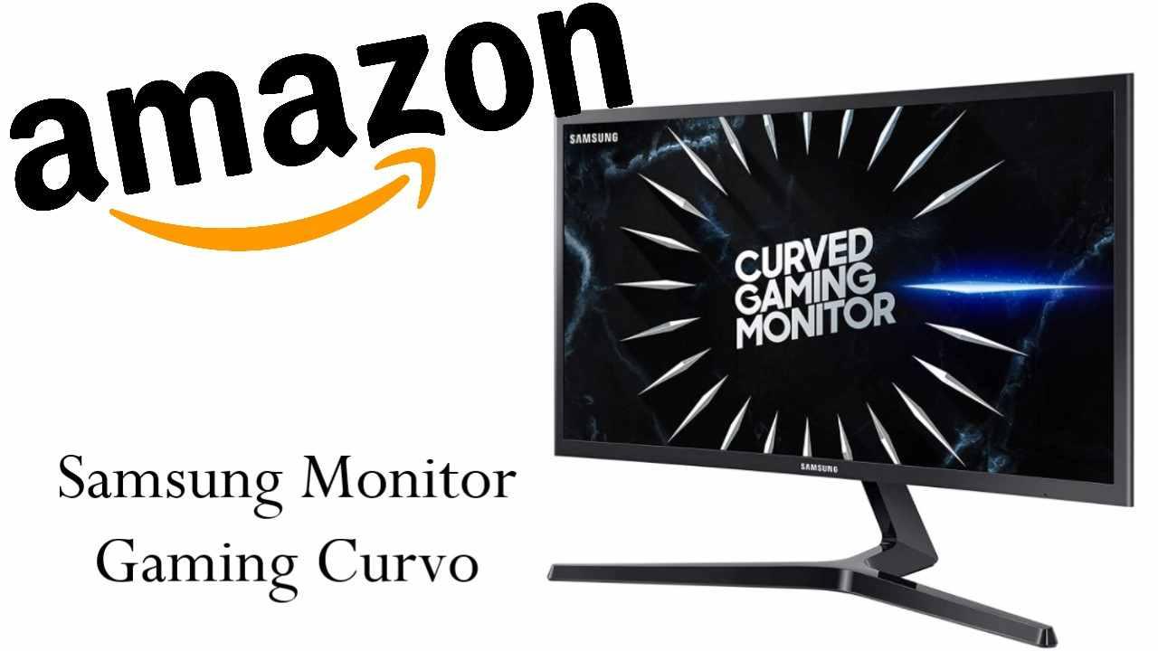 Massima risoluzione con il monitor gaming curvo Samsung C27RG50, in offerta Amazon