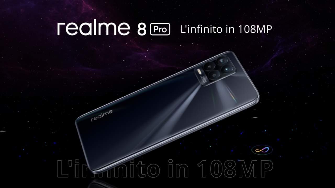 Nuovo Realme 8 Pro