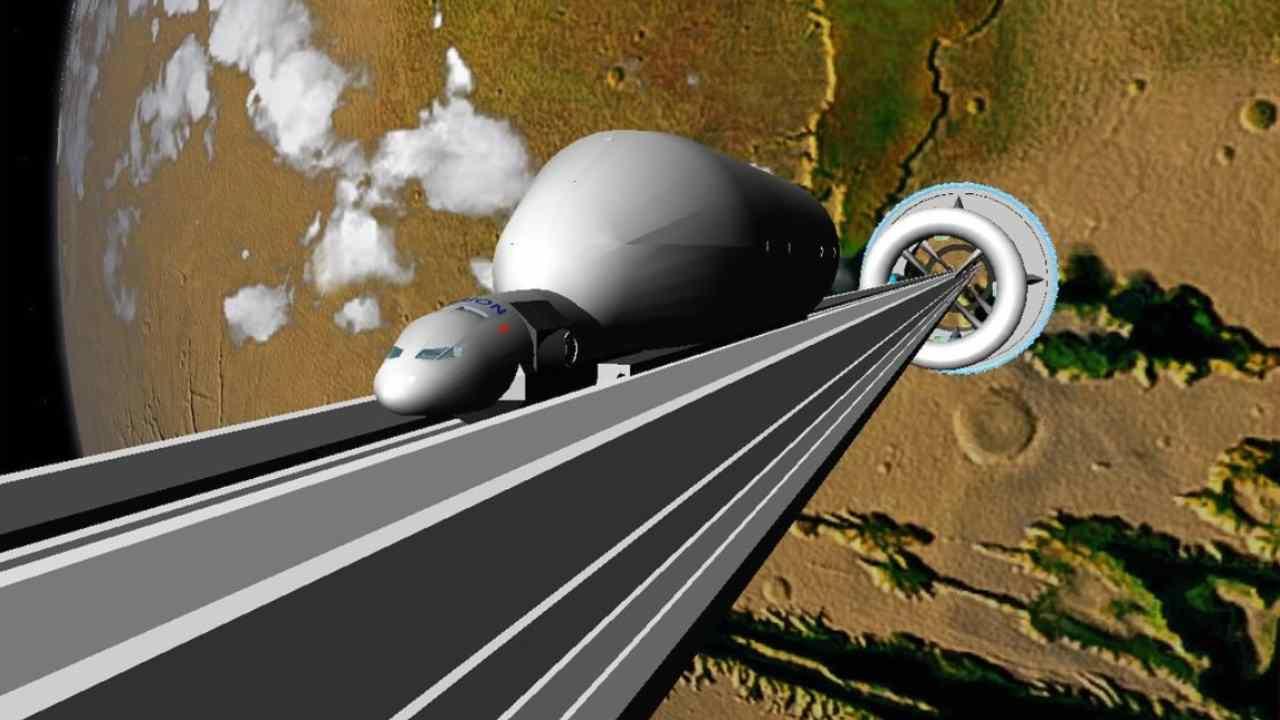 Progetto ascensore spaziale