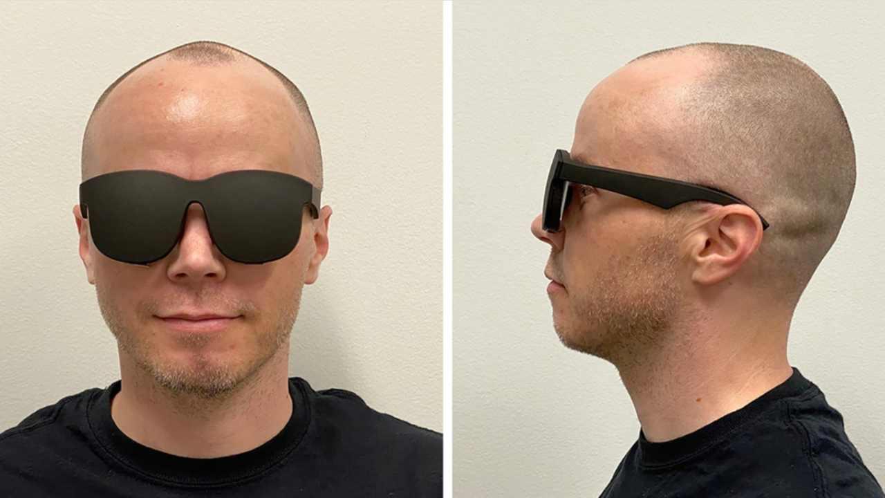 Prova del nuovo visore