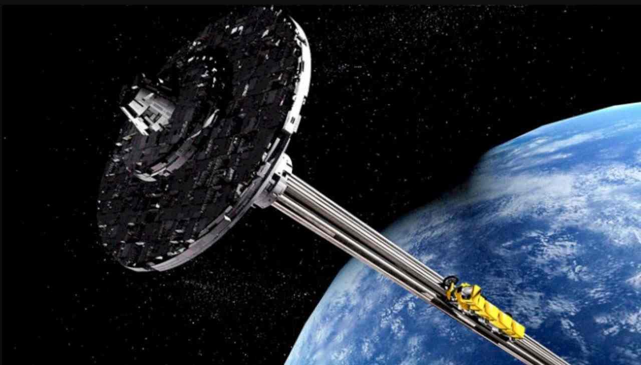 Altro progetto ascensore spaziale