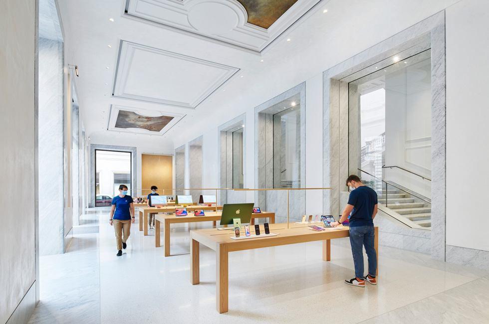 Apple, un nuovo store a Roma (www.apple.com)