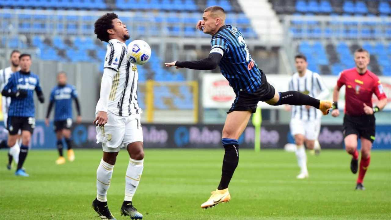 Atalanta-Juventus sulla Rai in 4K (Foto Eurosport)