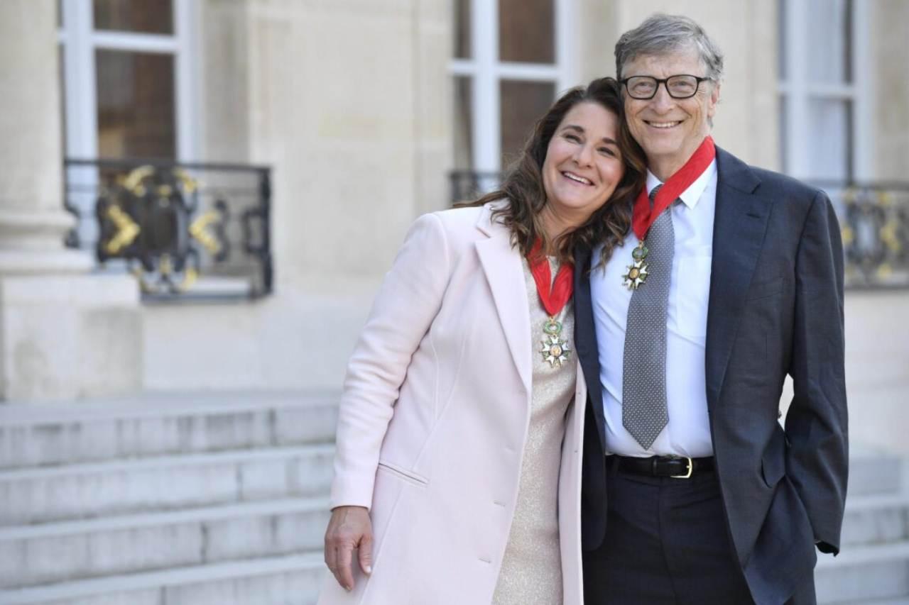 Bill Gates e Melinda (Foto Open)
