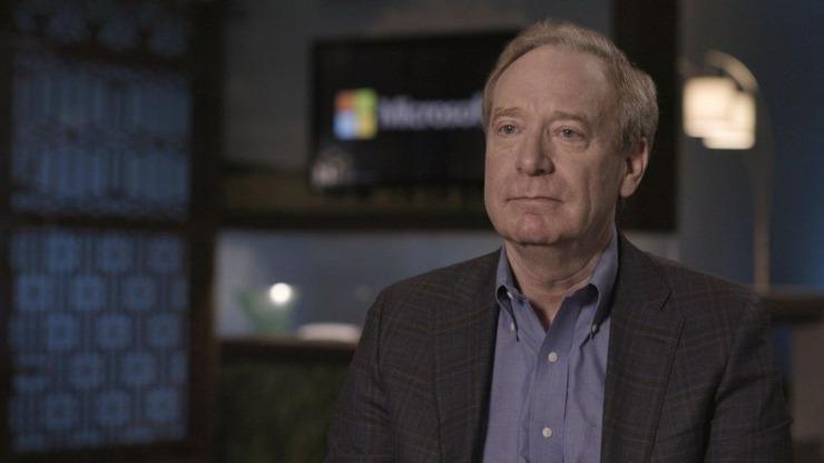 Brad Smith, numero uno Microsoft (BBC)