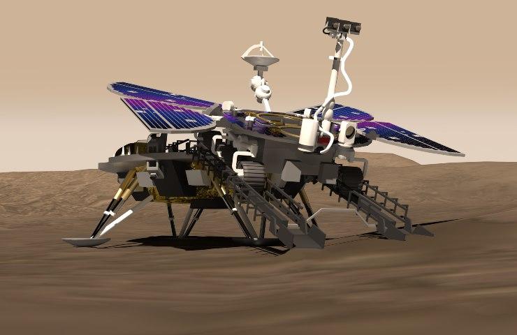 La Cina atterra su Marte! Touchdown riuscito per il rover Zhurong