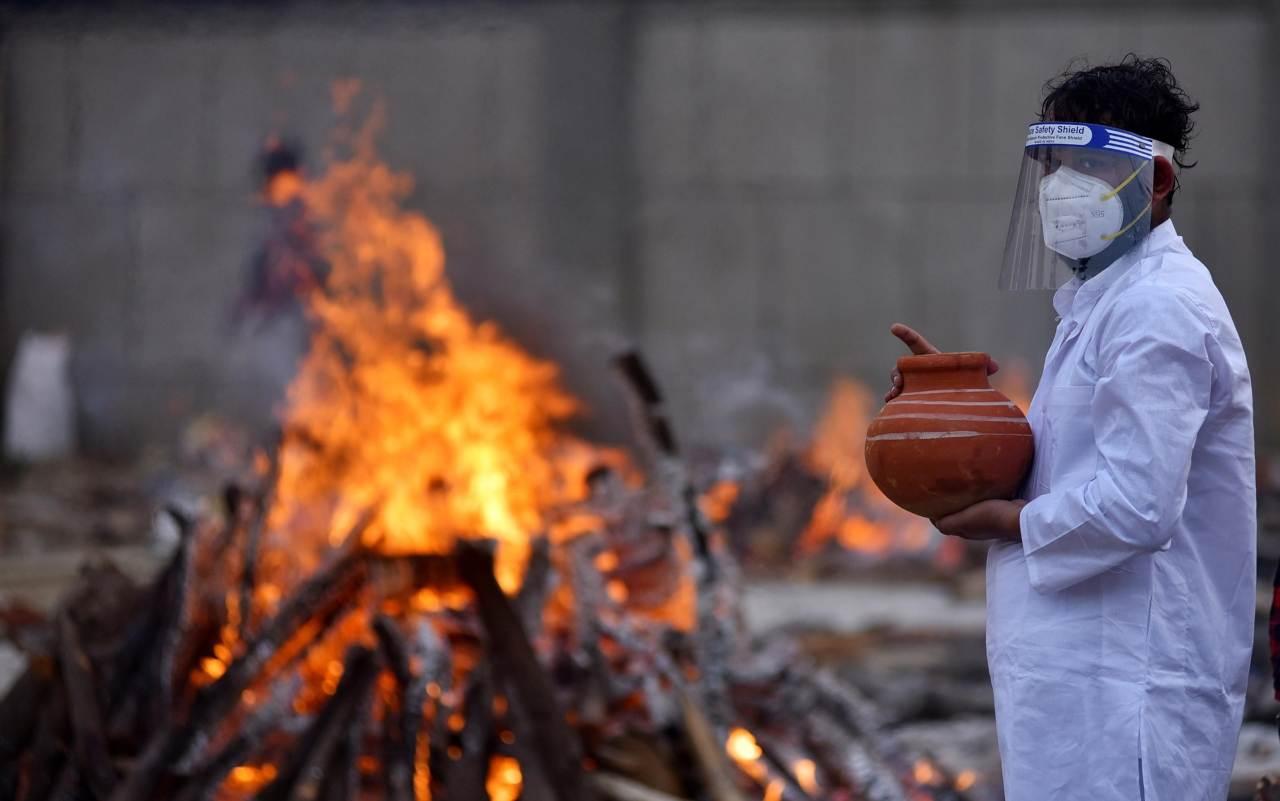 Covid in India (Foto Skytg24)