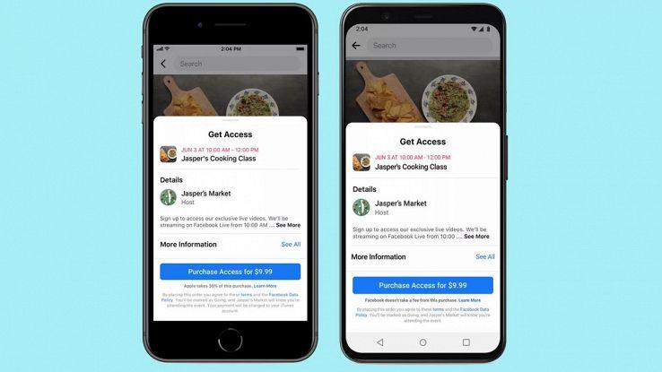 Facebook e Instagram diventeranno a pagamento