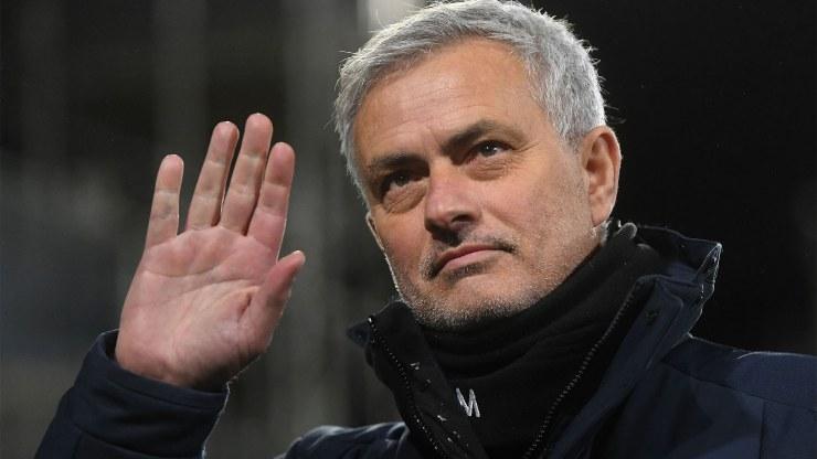 Mourinho alla Roma (Foto Virgilio)