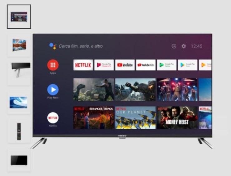 Nixev, tablet-tv con app pre installate