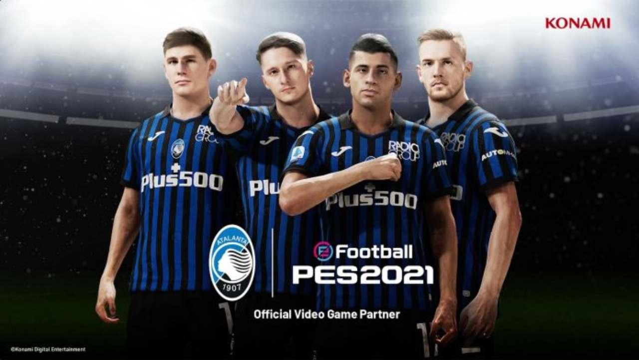 PES 2022, nuova esclusiva (Foto ufficiale Konami)