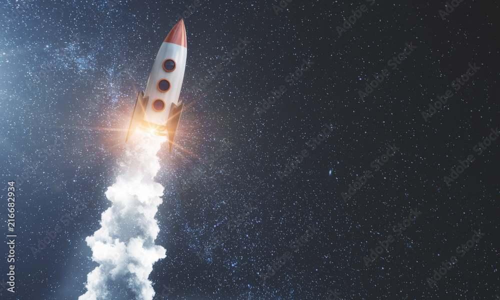 New Shepard, la sonda per la prima missione (Adobe Stock)