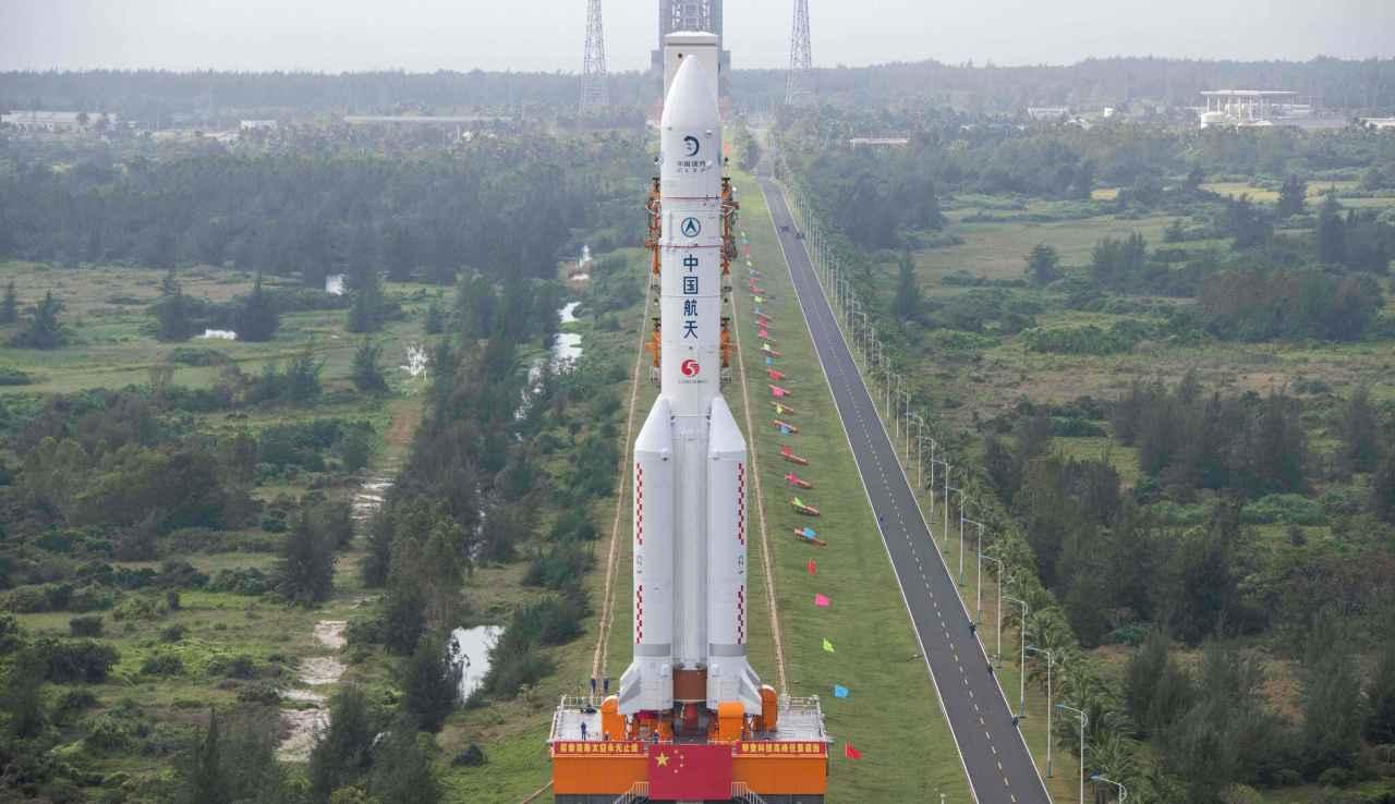Stadio razzo cinese (Foto Astrospace.it)