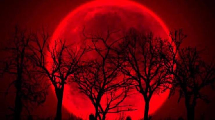 Superluna di Sangue ed eclissi totale (Foto Blueplanethearth)